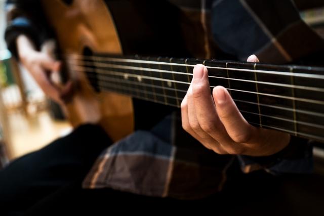 ギタープレイ